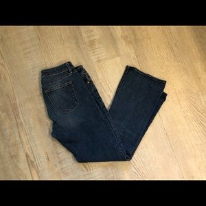 Gap 1969 Sexy boot jeans - short